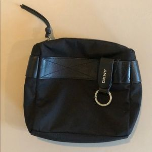 DKNY Cosmetic Bag with Keychain attached